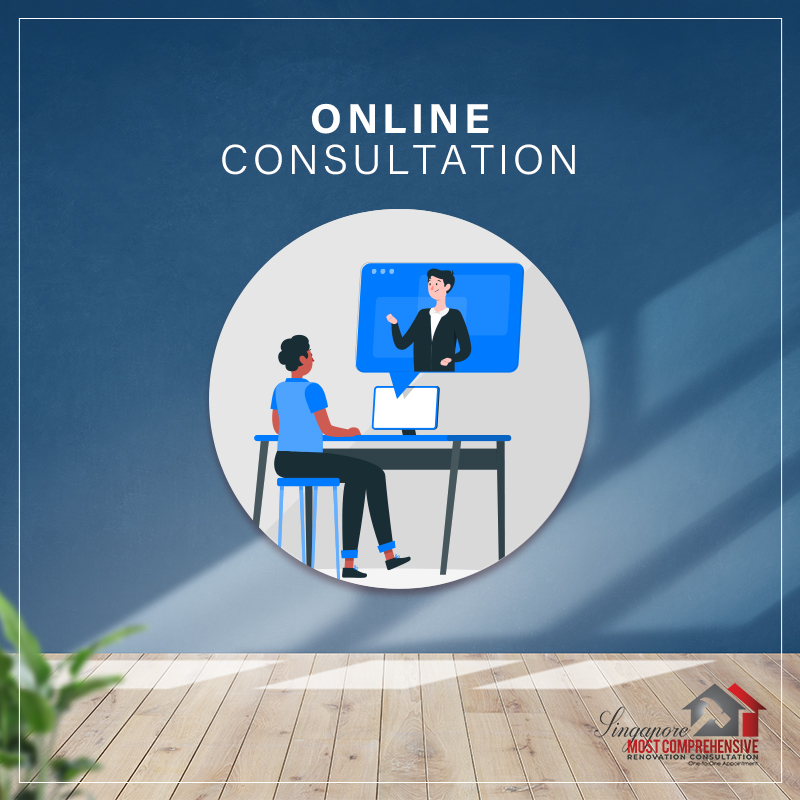 Singapore Most Comprehensive Renovation Consultation (Online Consultation)